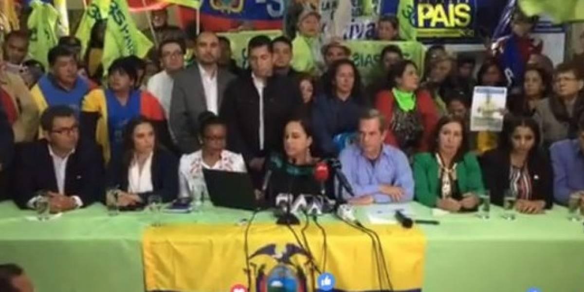 Alianza PAIS destituye de la presidencia del movimiento a Lenín Moreno