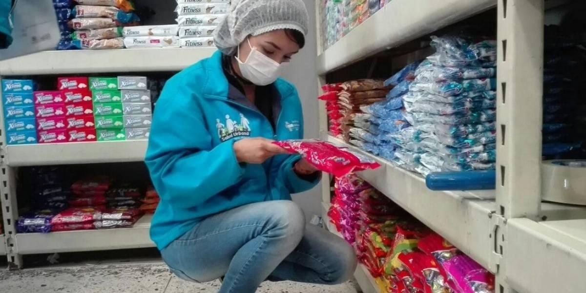 Decomisan 300 kg de dulces antes de la noche Halloween en Bogotá