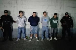 Raptores capturados