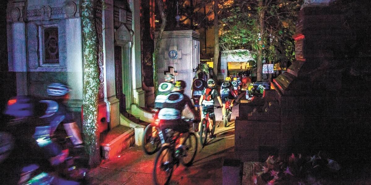 Passeio de bike em São Paulo abre homenagem aos mortos