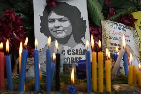 Crimen de ambientalista Berta Cáceres
