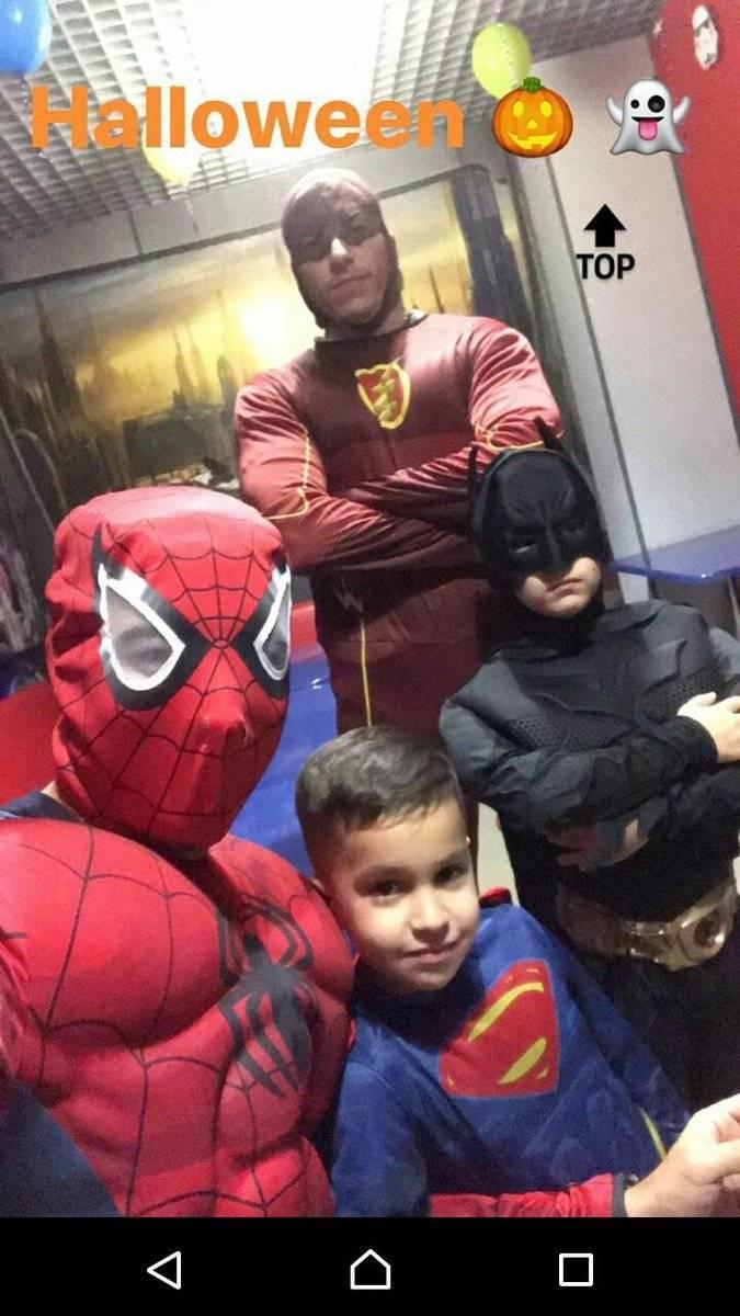Christian Noboa celebró Halloween/Instagram