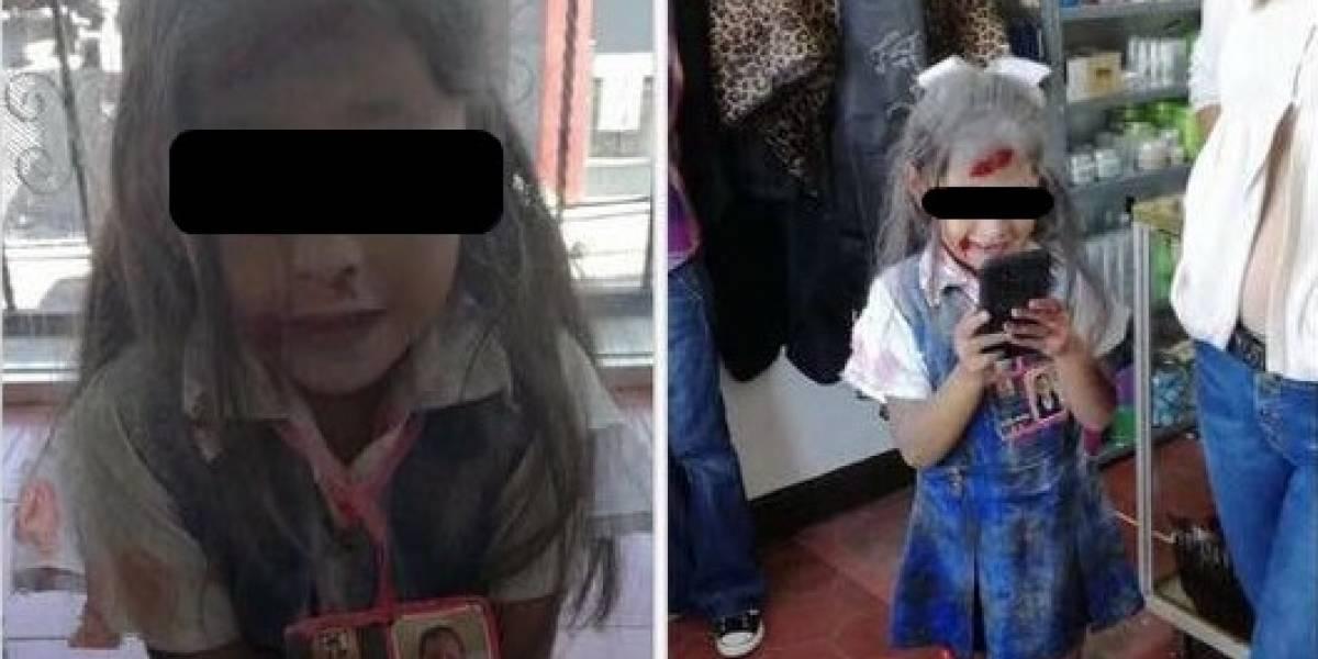 Polémica en México por niña disfrazada de