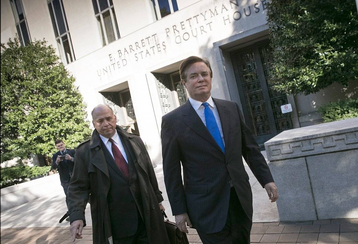 Paul Manafort y Rick Gates.
