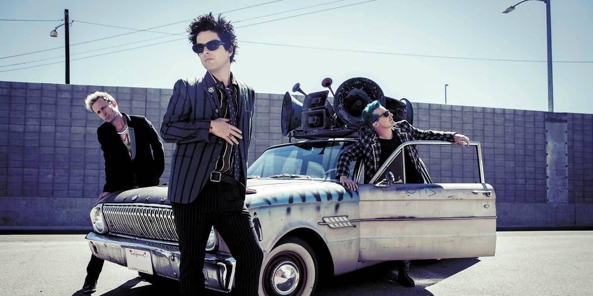Green Day revive seu punk rock politizado em show em São Paulo