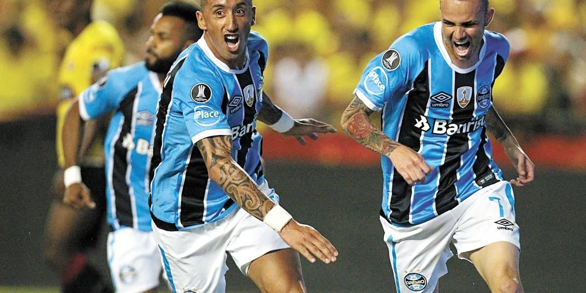Quase lá, Grêmio encara o Barcelona por vaga na final da Libertadores