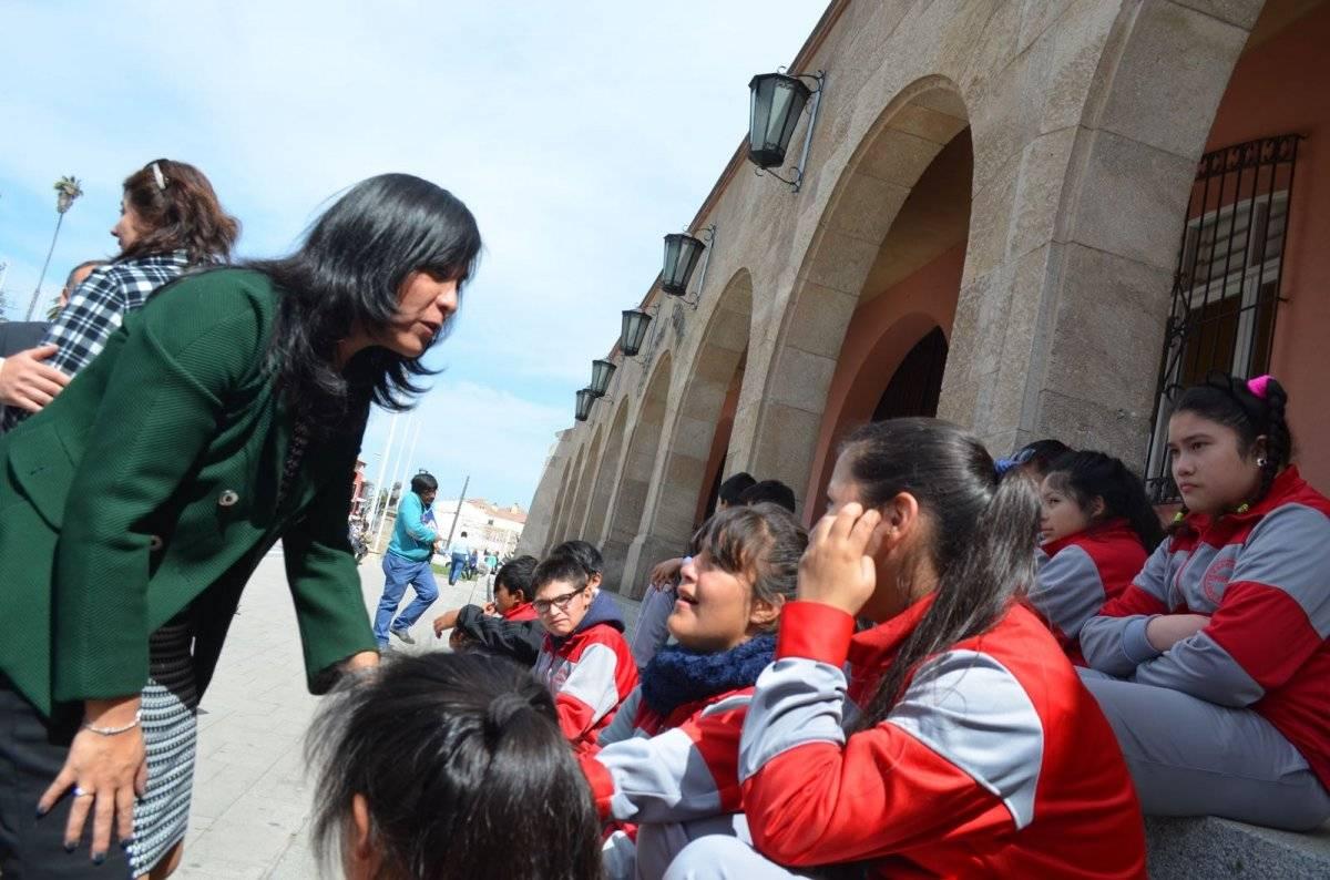 Ministra Tapia en Coquimbo