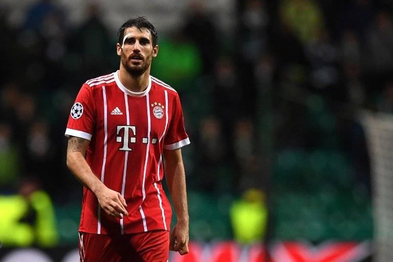 javi Martínez, jugador español del Bayern Múnich