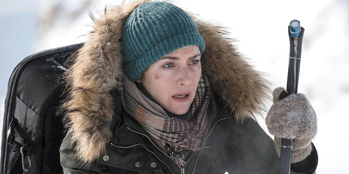 Kate Winslet luta pela própria sobrevivência com Idris Elba em novo filme