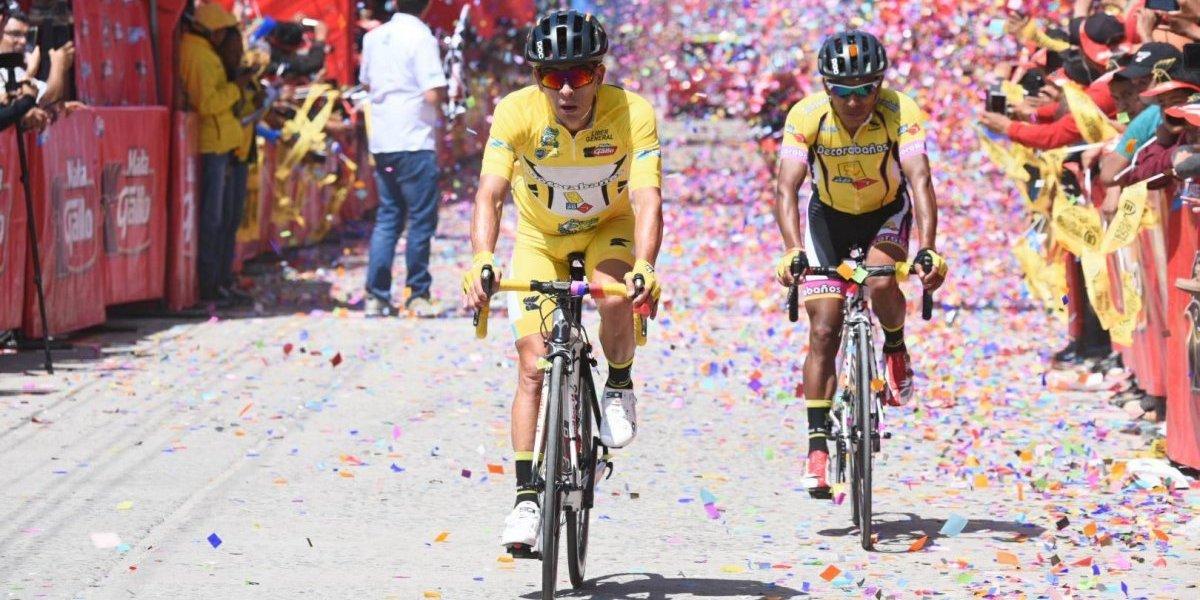 Rodas se queda a un solo paso de ganar la Vuelta a Guatemala