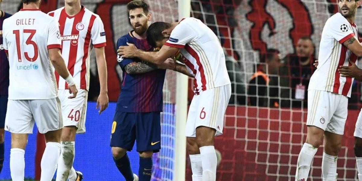 Olympiacos frena al Barcelona, que pospone su clasificación a octavos