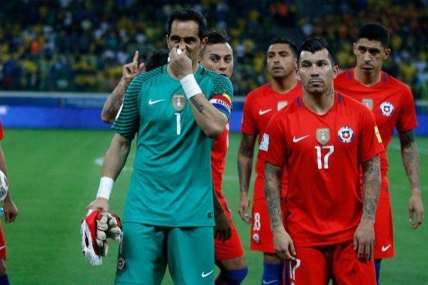 Chile sufre con las burlas / imagen: Photosport