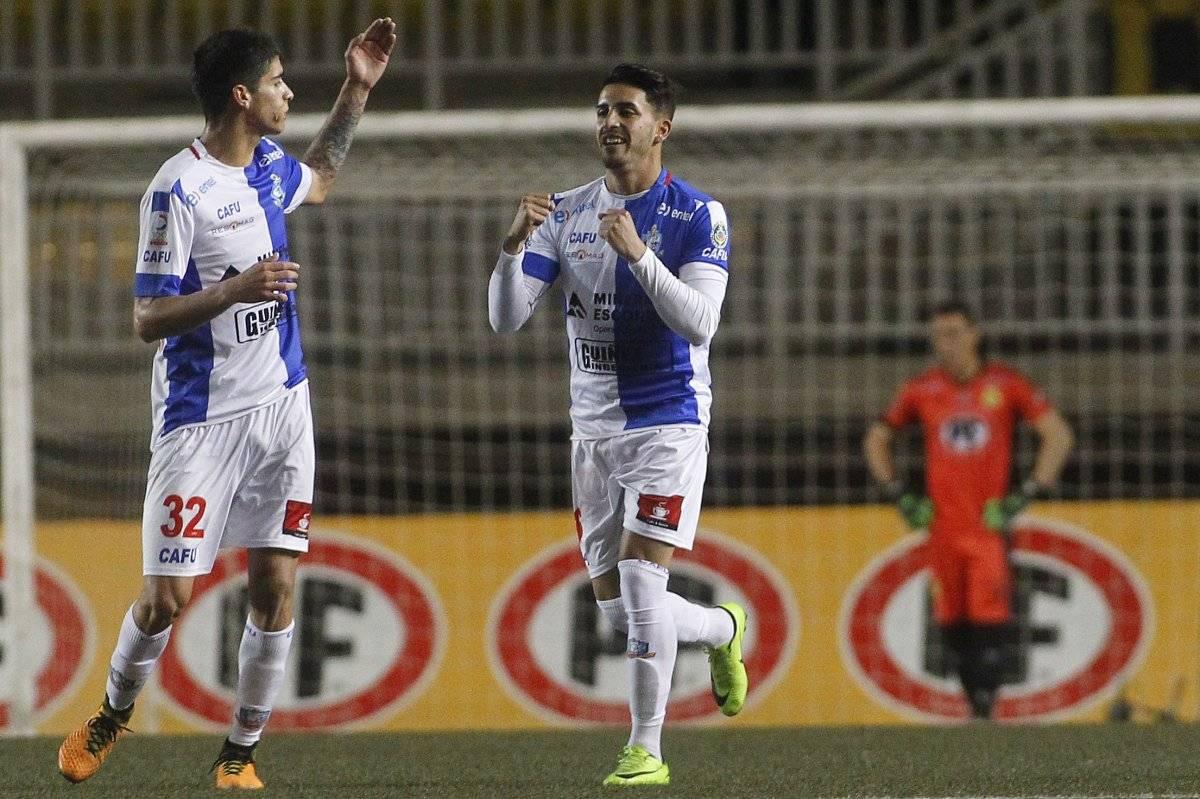 Flores lleva dos goles en este torneo de Transición / Photosport
