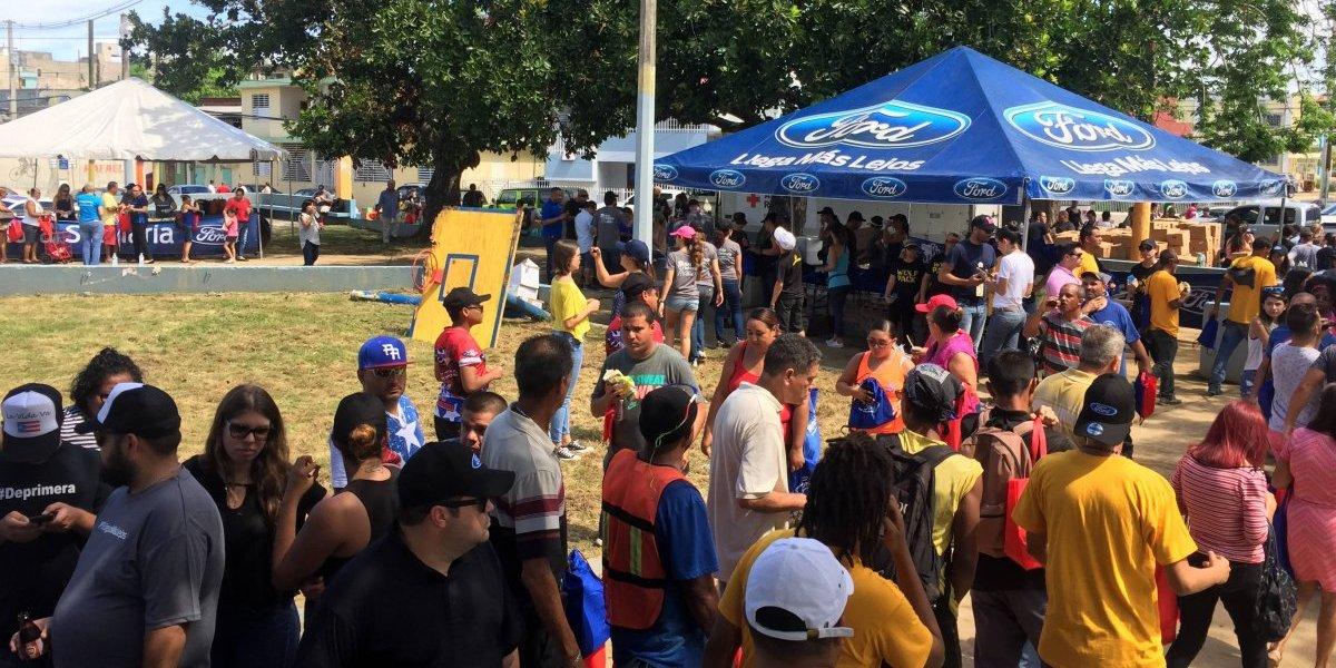 Ford realiza evento para quienes lo perdieron todo en Arecibo