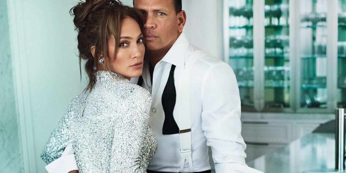 La foto más ardiente de JLo con su novio Alex Rodríguez