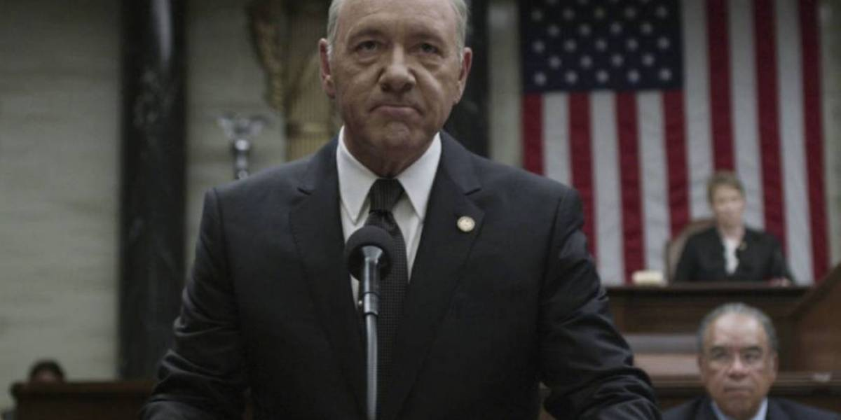 Netflix suspende grabación de House of Cards