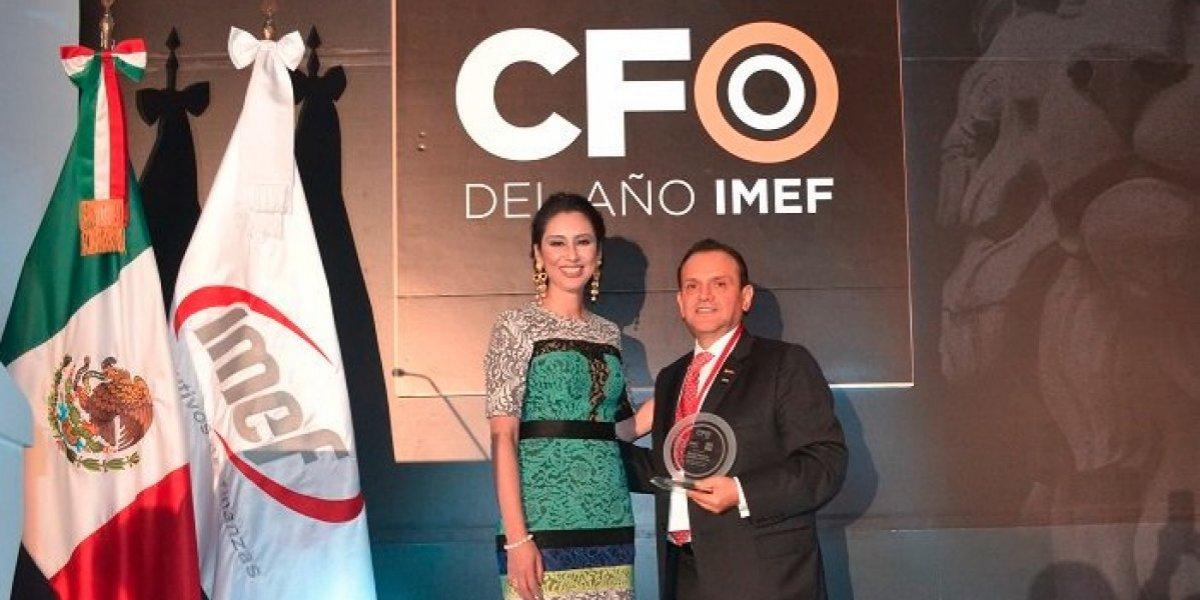 IMEF reconoce a Juan Pablo Sánchez Kanter como CFO del año