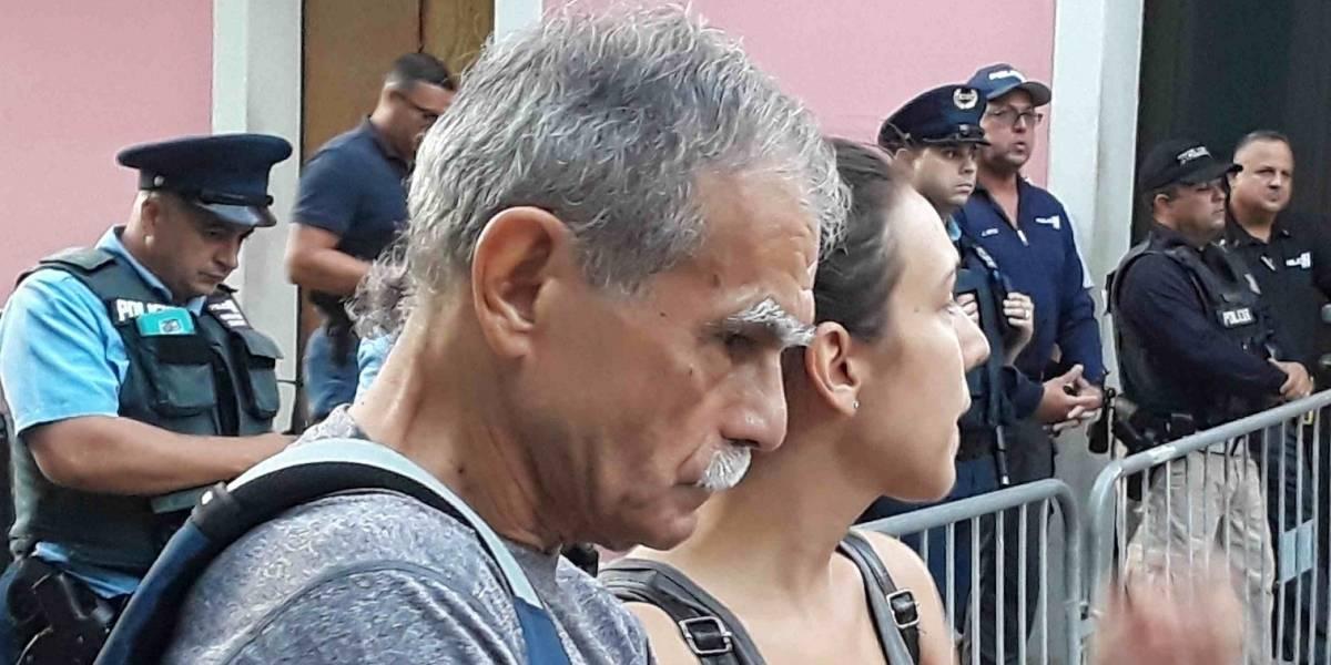Oscar López llama a mantener la lucha