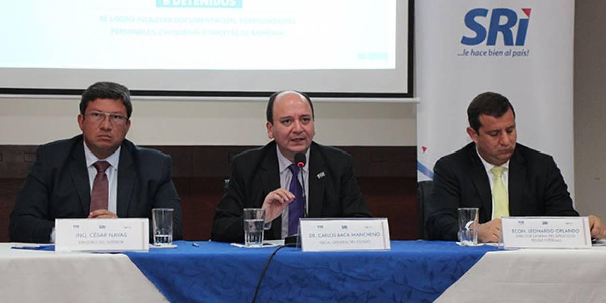 Se desarticula la red de defraudación tributaria más grande en Ecuador