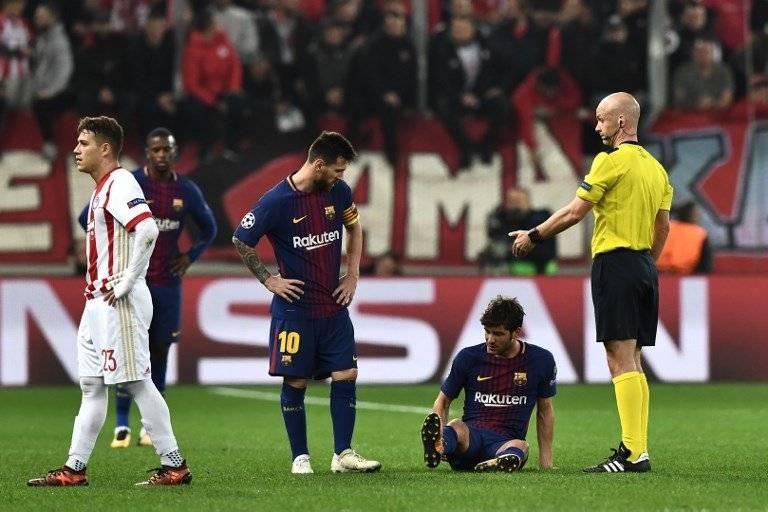 La lesión de Sergi Roberto