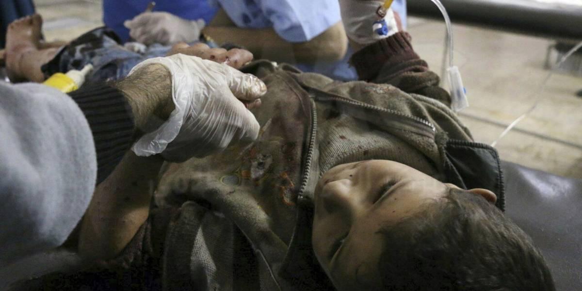 Activista sirios: mueren 7 niños en bombardeo del gobierno