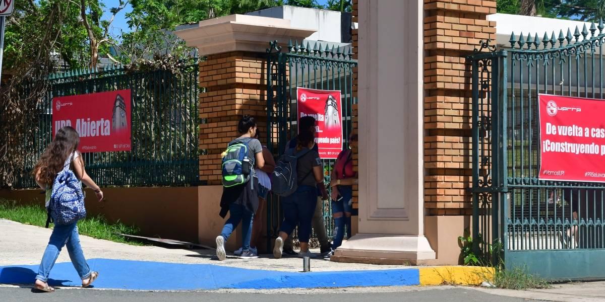 María cambia ambiente de docencia en la UPR