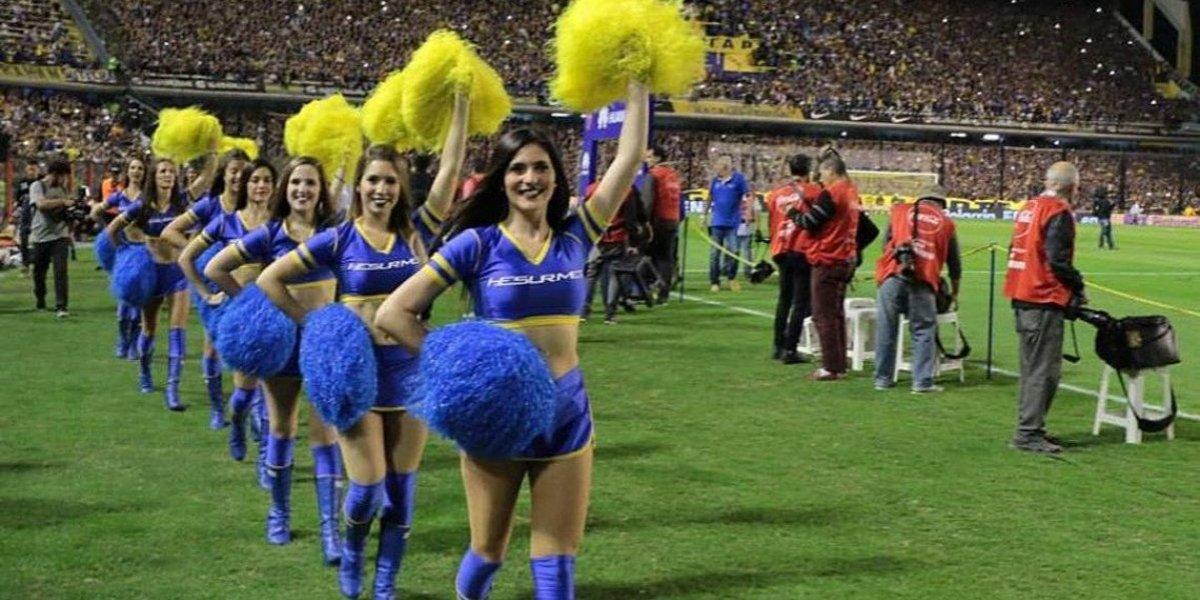 Boca Juniors se queda sin porristas por campaña contra feminicidios