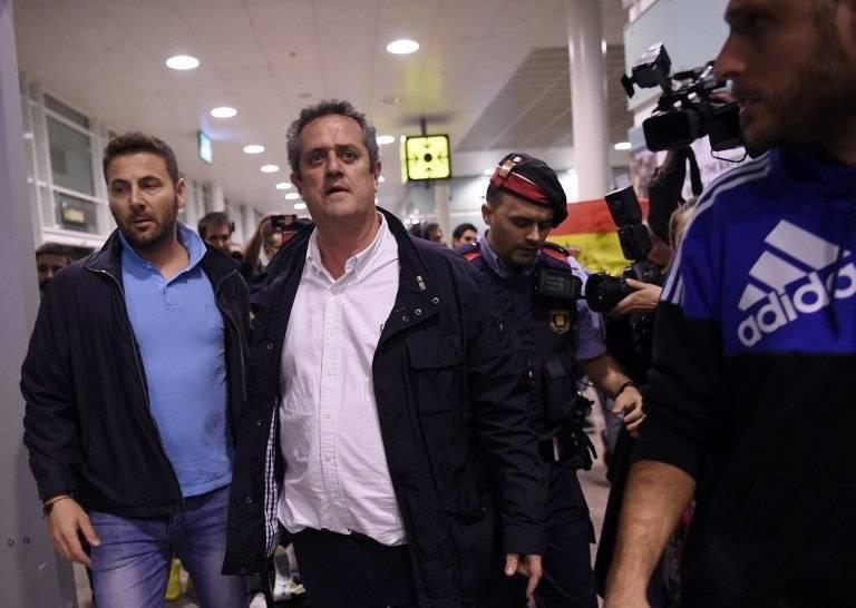 Funcionarios del gobierno catalán fueron detenidos