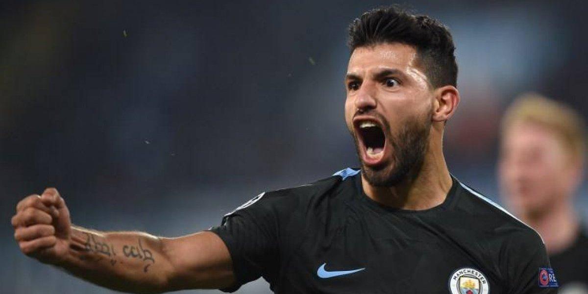 Sergio Agüero pasó a la historia del Manchester City