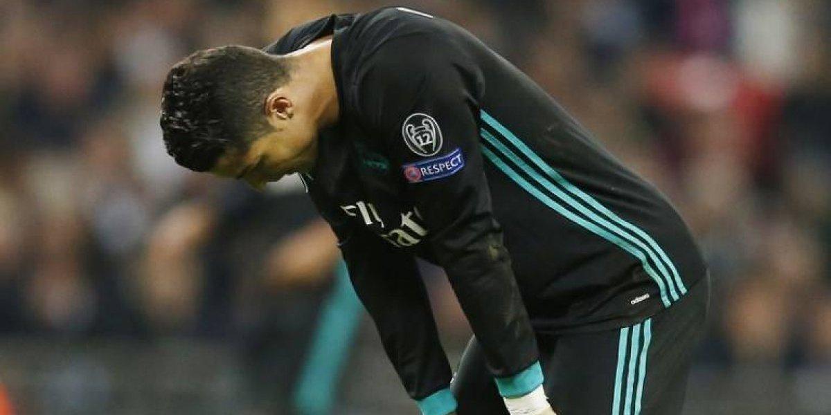 Cristiano Ronaldo reconoció que Real Madrid pasa por una mala racha