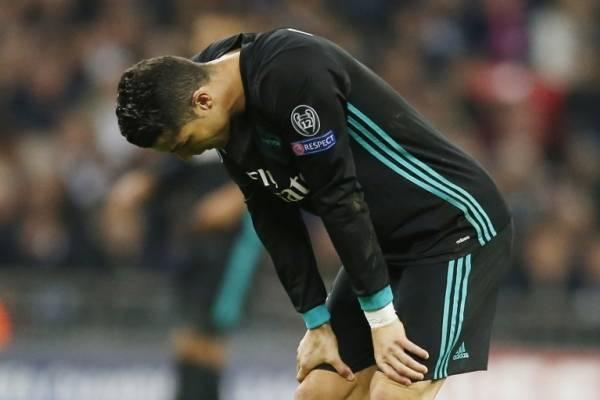 CR7 lamenta la derrota / imagen: AFP