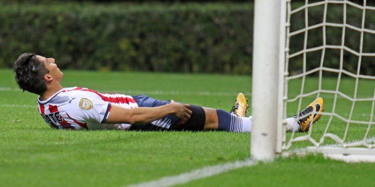 Chivas también fracasa en la Copa MX al caer eliminado ante Atlante