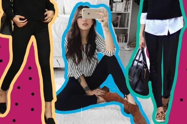 20a27a8fb9 Los jeans negros están de moda pero a veces es difícil combinarlos pero si  sigues este manual seguro obtendrás el look perfecto