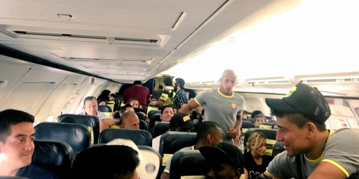 El insólito viaje del Barcelona de Guayaquil para disputar la semifinal de la Copa Libertadores
