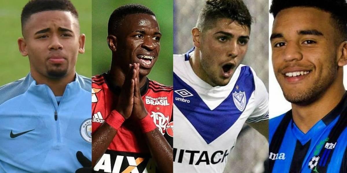 """Los 4 prodigios latinoamericanos que según la revista France Football """"dominarán el fútbol en el futuro"""""""
