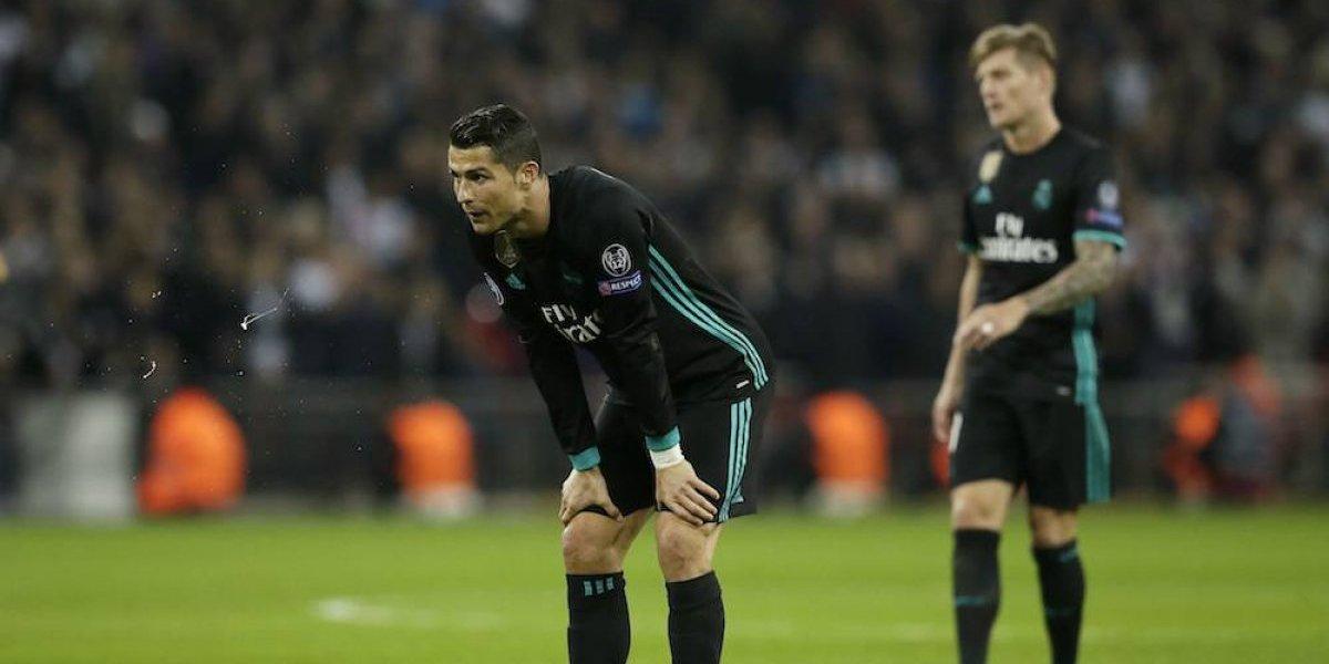 Noche de terror del Real Madrid en Wembley
