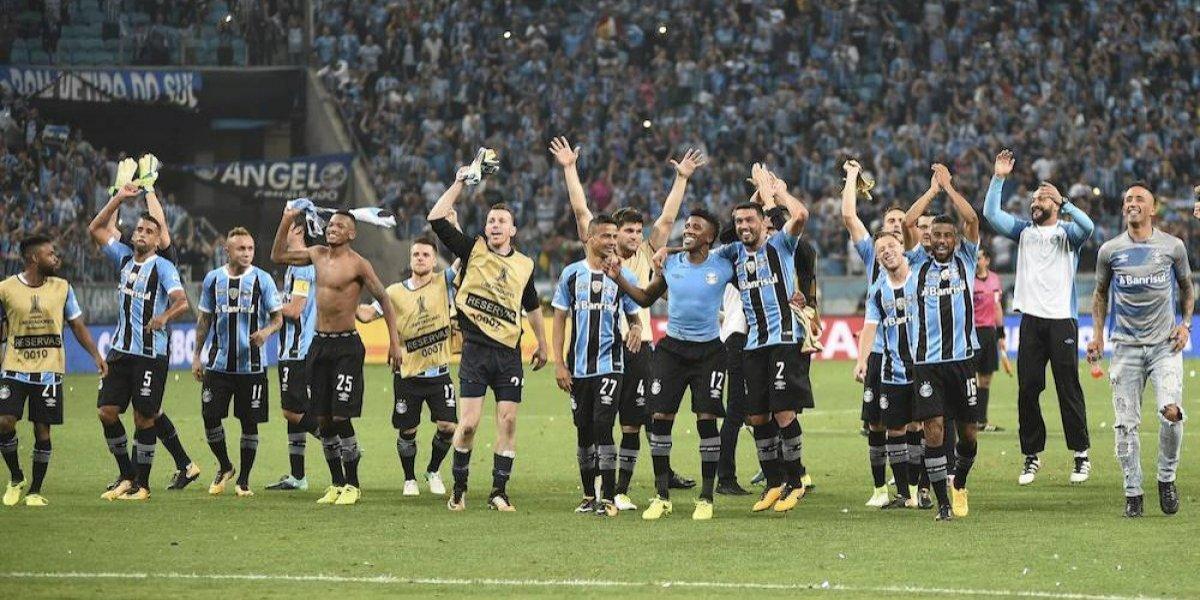 Gremio disputará con Lanús la final de la Copa Libertadores