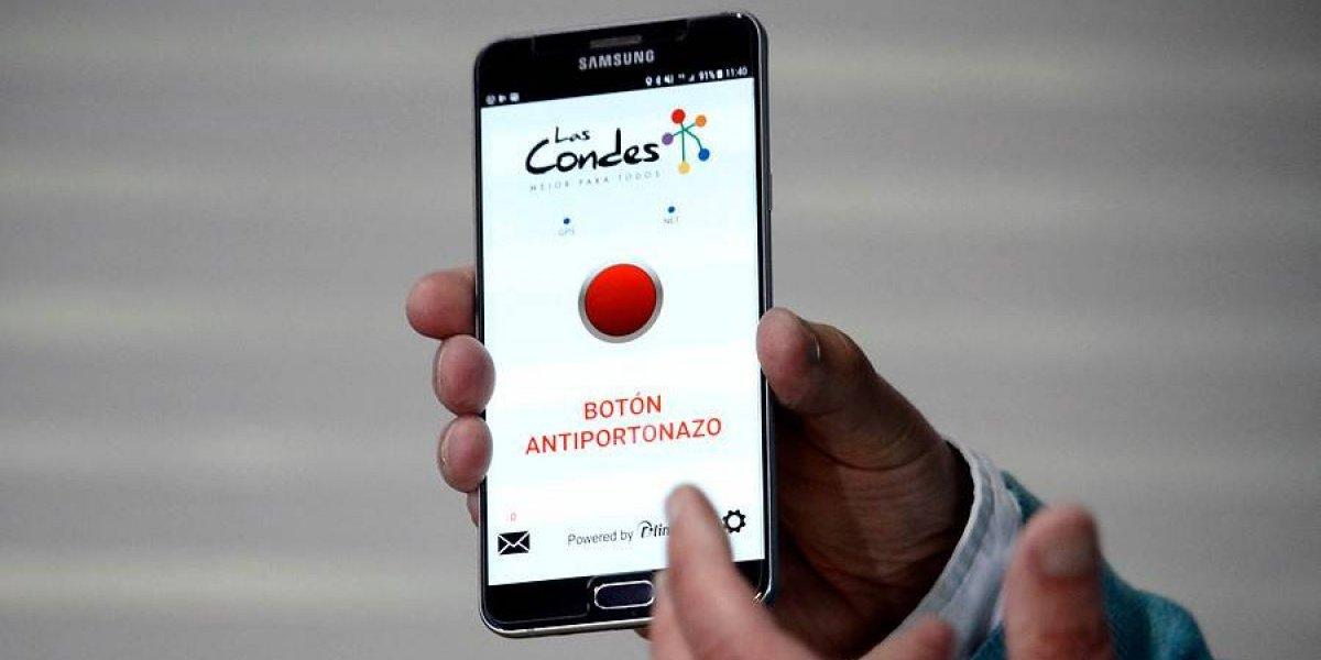 Alerta criminales: Botón antiportonazo reducirá la delincuencia en Las Condes