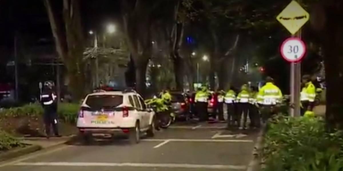 Conductores de piques de ilegales arrollan dos policías en Bogotá