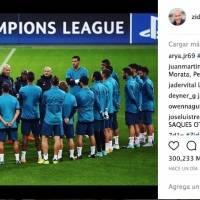 Instagram de Zidane