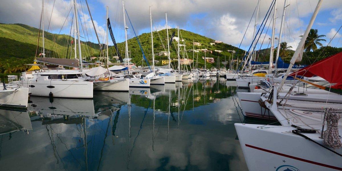 Comienza la recuperación de la industria nauta en Islas Vírgenes Británicas