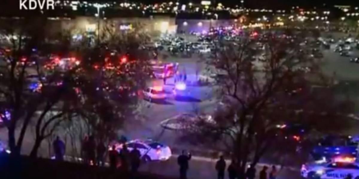 Dos muertos y un herido deja tiroteo en supermercado de Colorado
