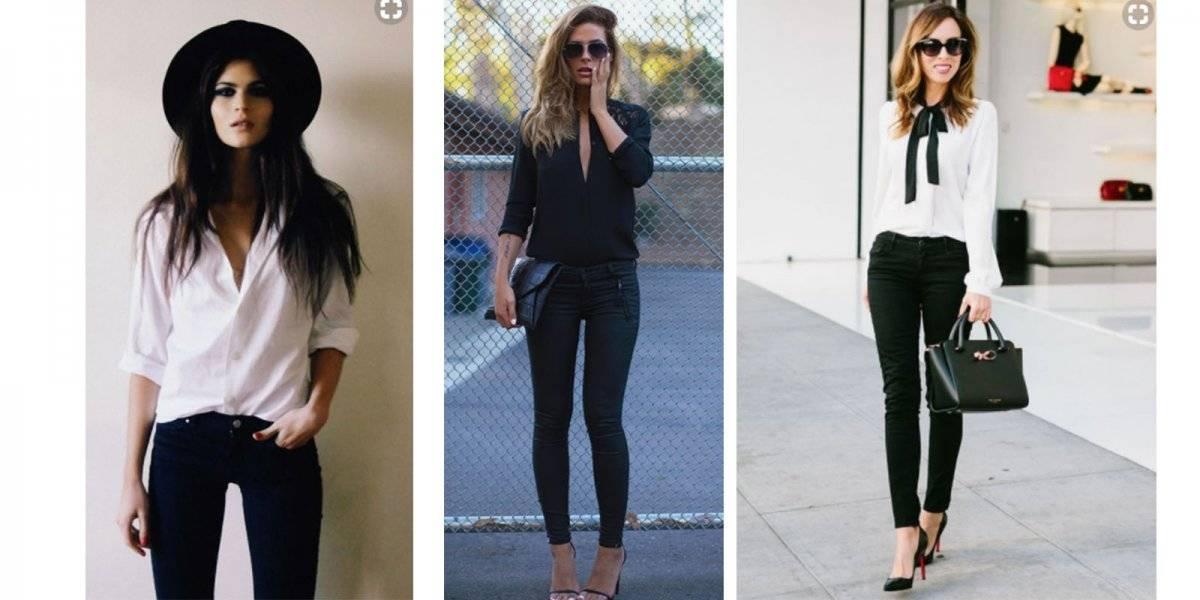jeans blusa