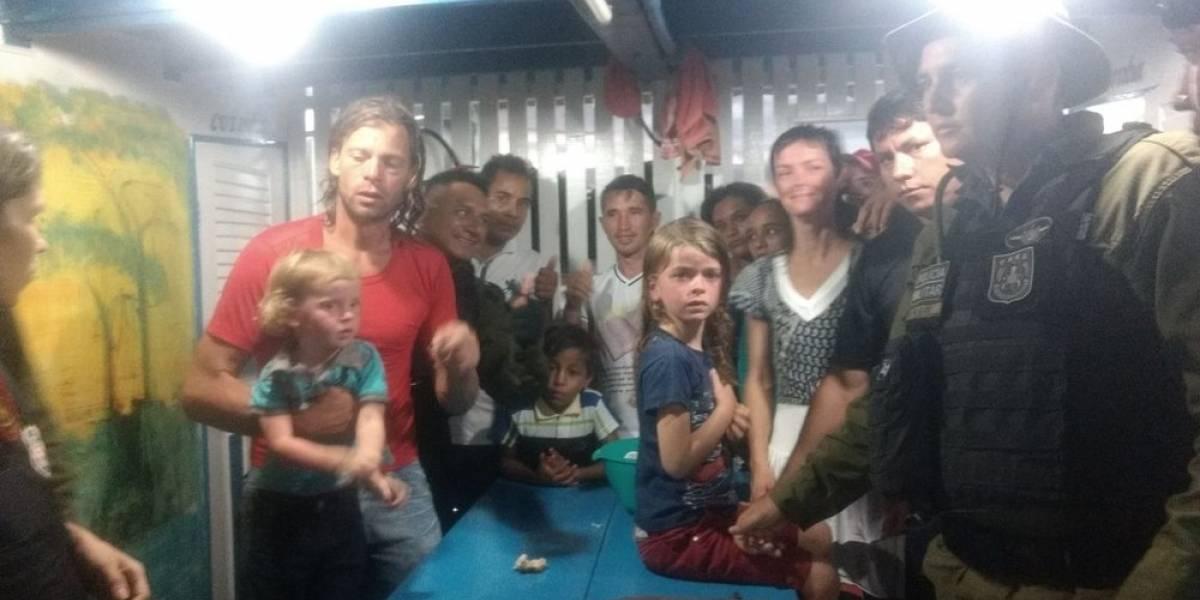 Casal de norte-americanos que havia desaparecido no Pará é encontrado com vida