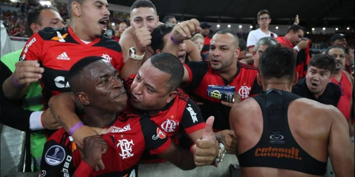Em jogo com muitos gols, Flamengo arranca empate com o Flu e avança na Sul-Americana