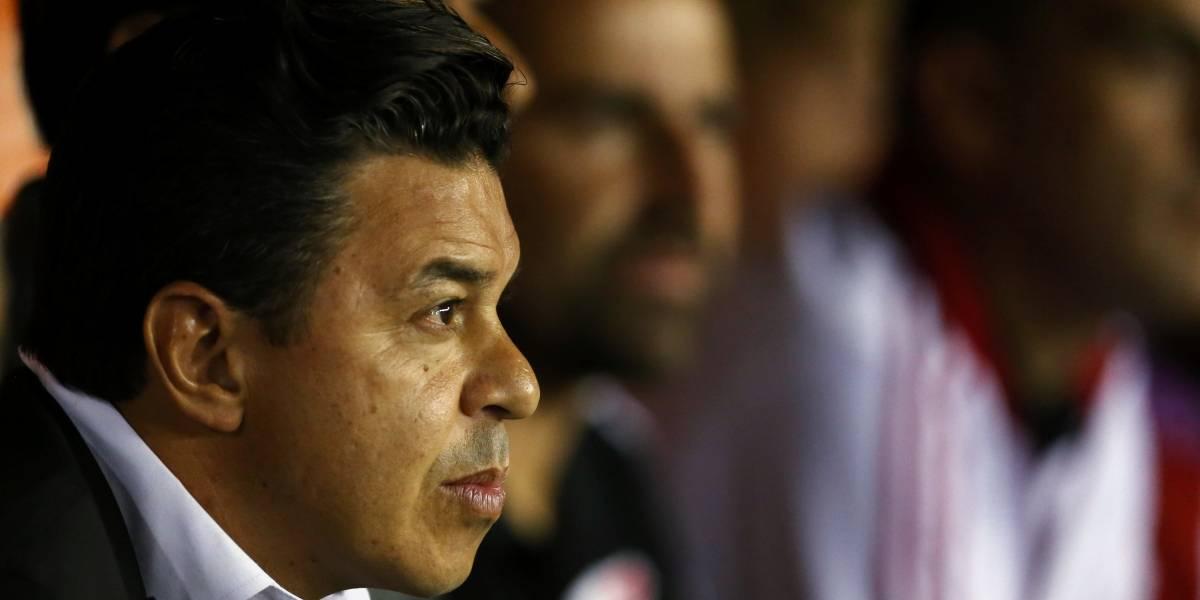 Após queda na Libertadores, Gallardo diz que arbitragem de vídeo prejudicou River