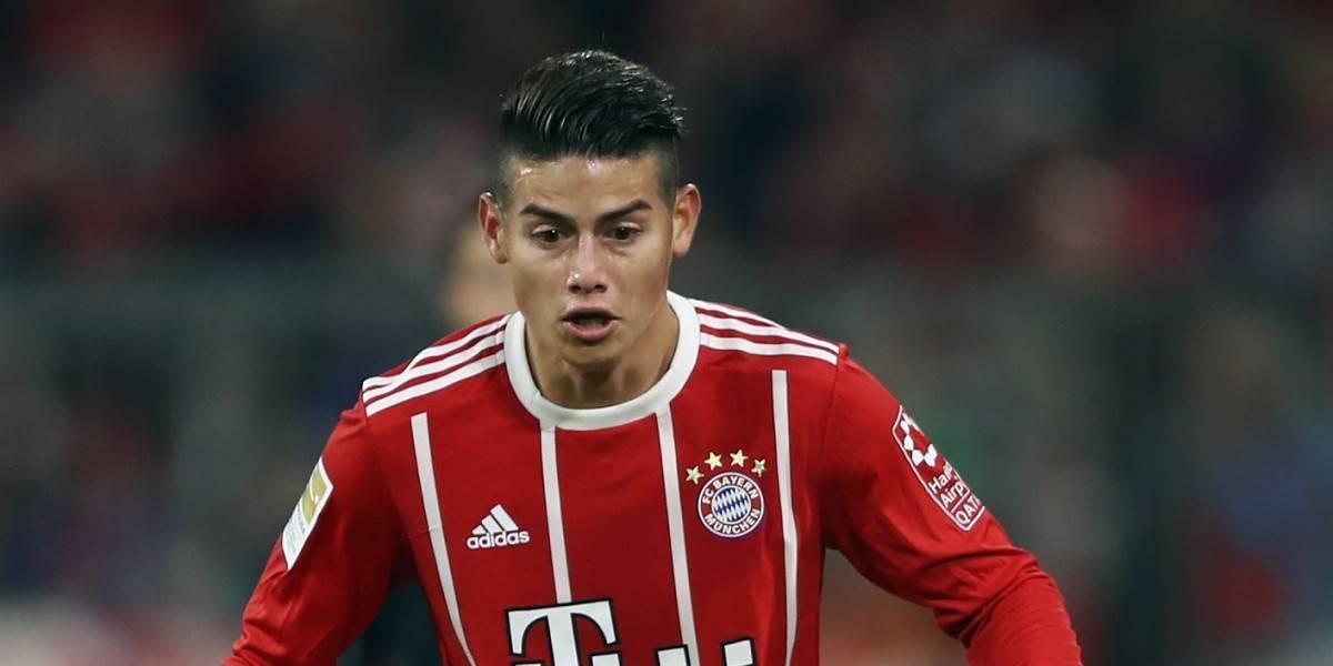 DT del Bayern le encontró la posición ideal a James Rodríguez