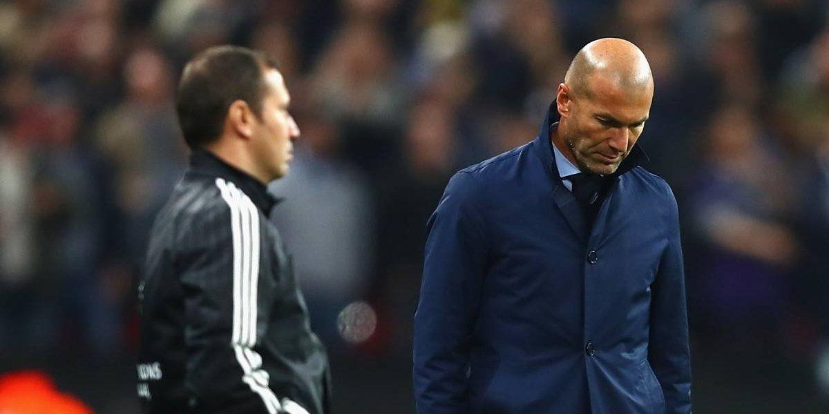 ¿Zidane extraña a James? Al Madrid le dieron un paseo en Wembley