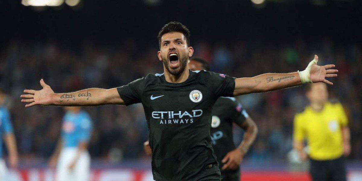 Manchester City califica a octavos con goleada sobre el Napoli