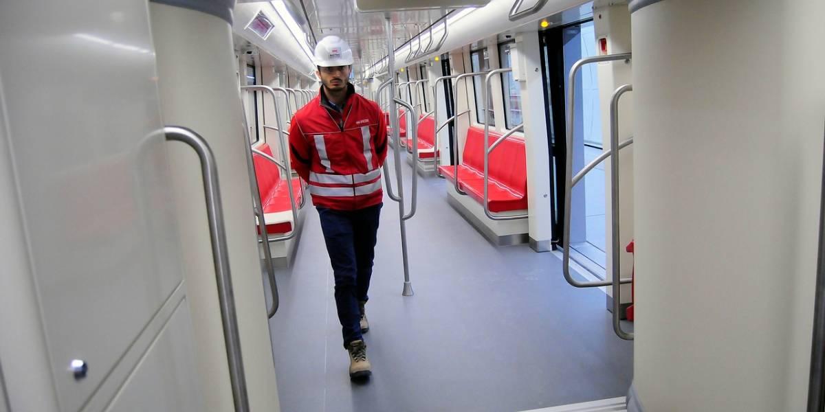 Nueva línea de Metro beneficiará a 1,1 millones habitantes de capital chilena
